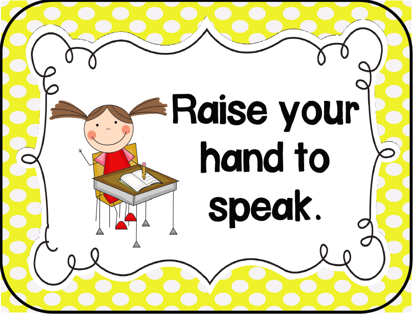graphic relating to Kindergarten Classroom Rules Printable named Ms. Vinsons Kindergarten Cl - Residence/ Casa